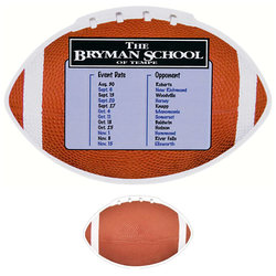 Jumbo Football Magnet
