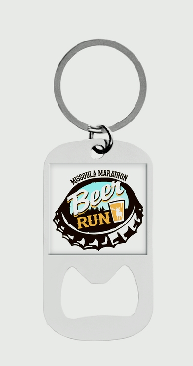 Custom Dog Tag Bottle Opener Key Tag