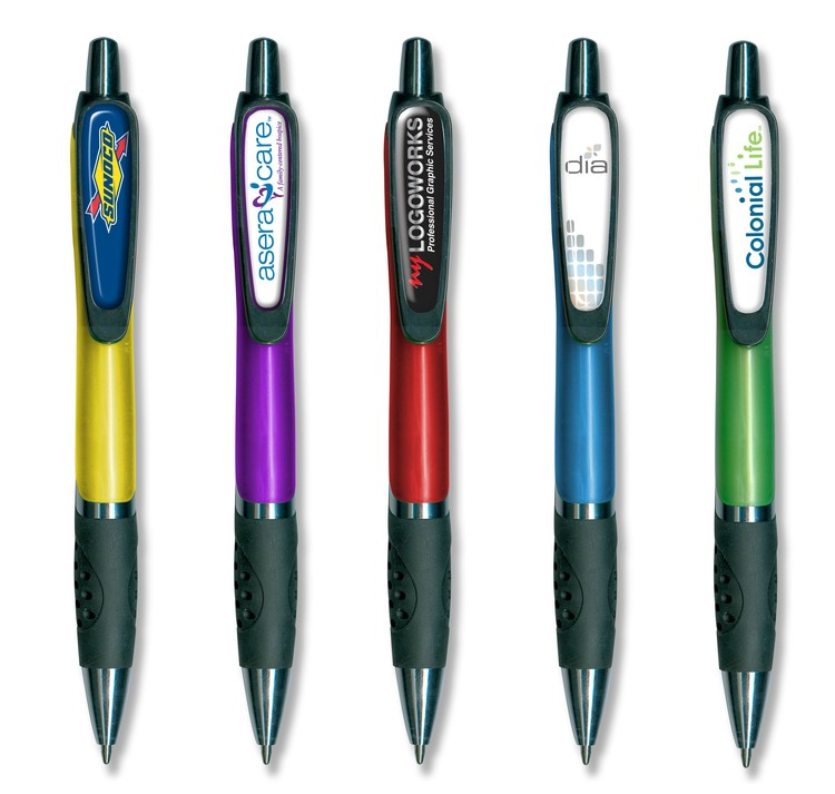 Drive Grip Pen with Full Color Imprint