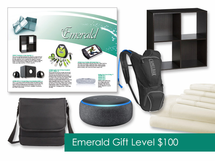 $100 Gift of Choice (Emerald Level) Gift Booklet