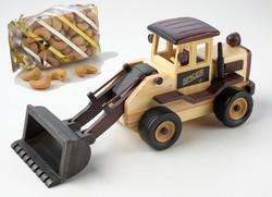 Cashews in Front End Loader