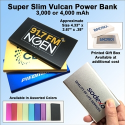 Vulcan Power Bank 4000 mAh