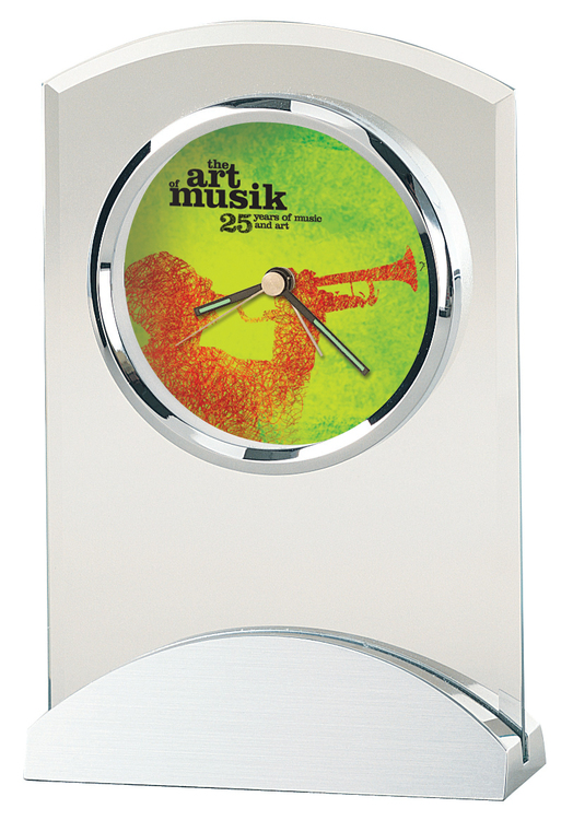 Howard Miller Tribeca tabletop clock with Custom Dial