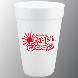16 oz. Styrofoam Cup