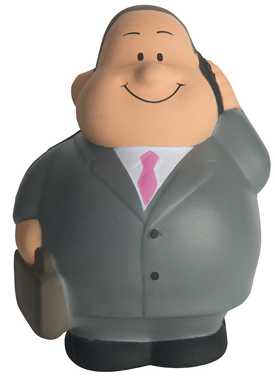 Businessman Bert Squeezies Stress Reliever