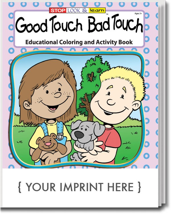 coloring book good touch bad touch coloring activity book - Good Touch Bad Touch Coloring Book