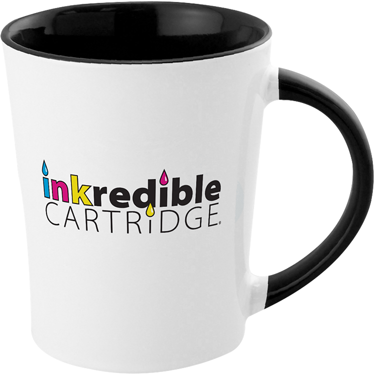12 oz Full Color Two-Tone Stoneware Mug