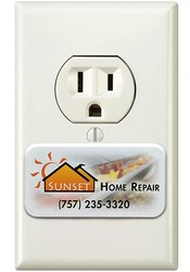 Full Color Safety Outlet Plug