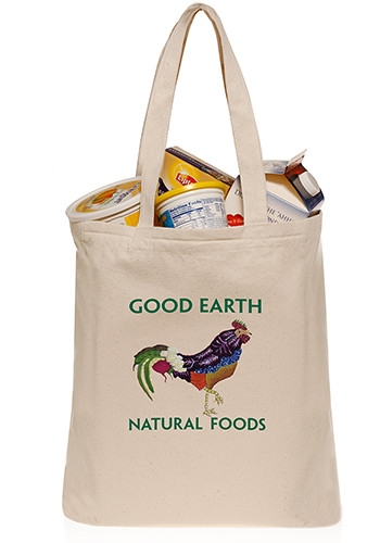 10 oz Cotton Grocery Tote Bag