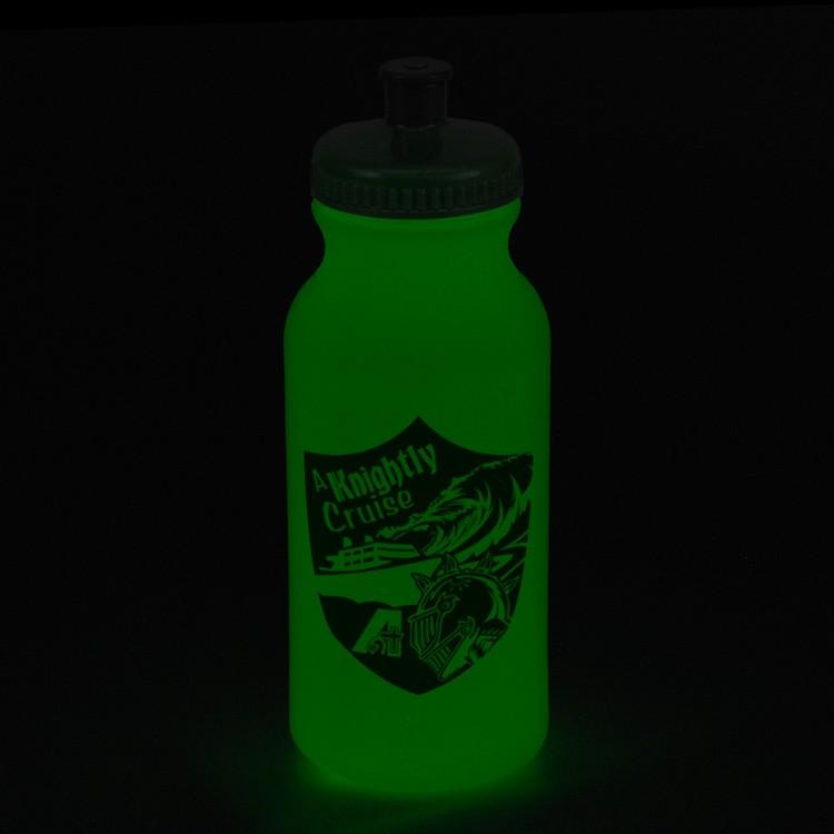 20 oz. Glow-In-The-Dark Sports Bottle