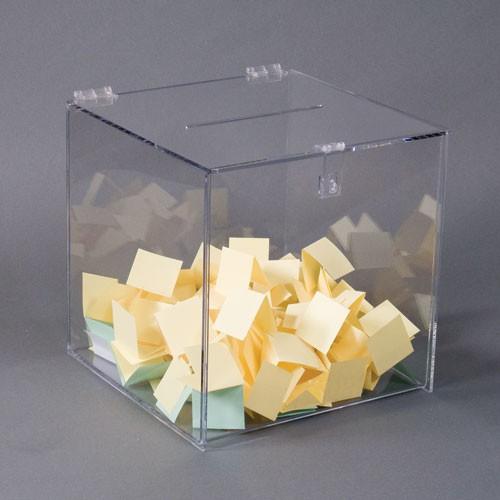 Black Suggestion/Registration Box, 12x12x12