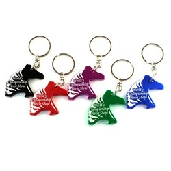 Horse Head Key Chain / Bottle Opener