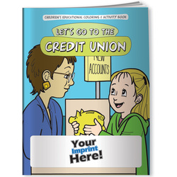 Credit Union, Let's Go to the Credit Union - Coloring Book