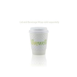 8 oz Paper Cup - White - Hi-Speed