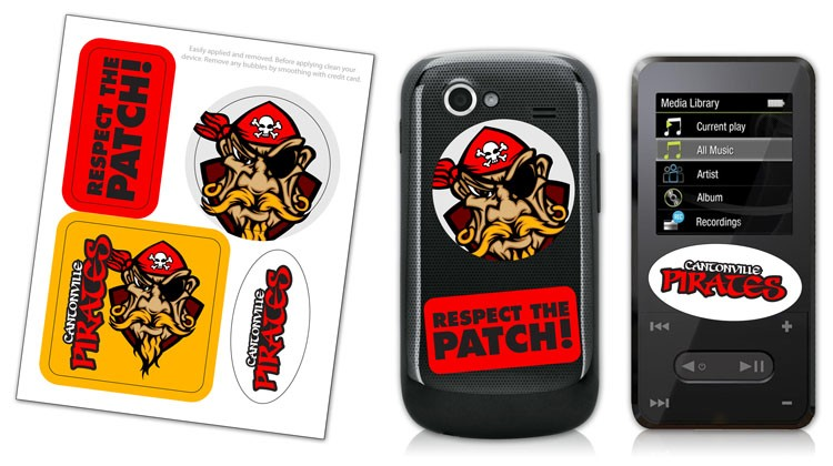 Cell Phone & MP3 Multiple Skin Stickers - UV-Coated Vinyl (4x5)