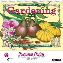 The Old Farmer's Almanac Gardening - Spiral 2020
