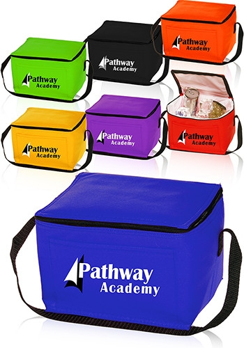 Non-Woven Lunch Bag - Cooler Bag - 9 W x 6 H