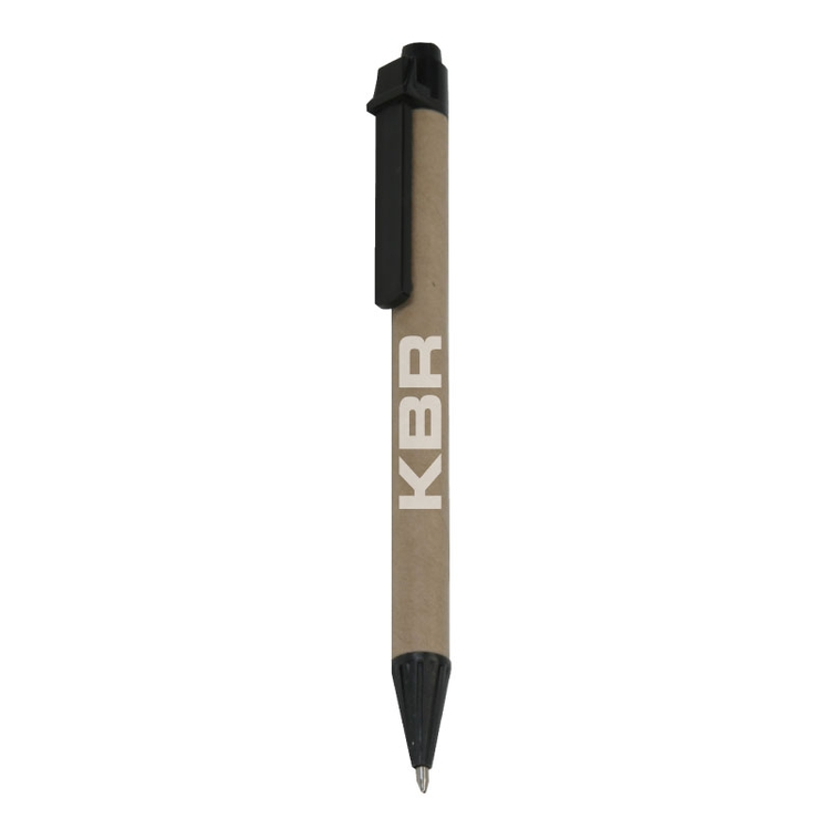 Clearance Item! Recycled Paper Cardboard Click Pen