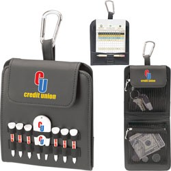 Folding Golf Caddy - Value Pak-2-1/8 Tees