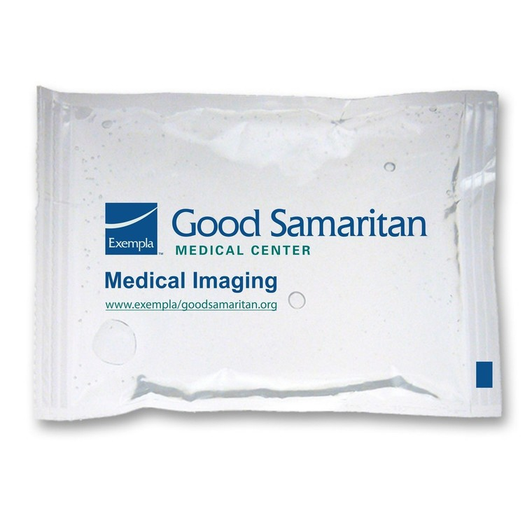4.5 x 6 Clear STAY-SOFT Cold/Hot/Therapy Gel Pack with up to a four color process imprint.