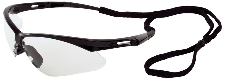 Octane Safety Glasses (Black Frame/Clear Lens)