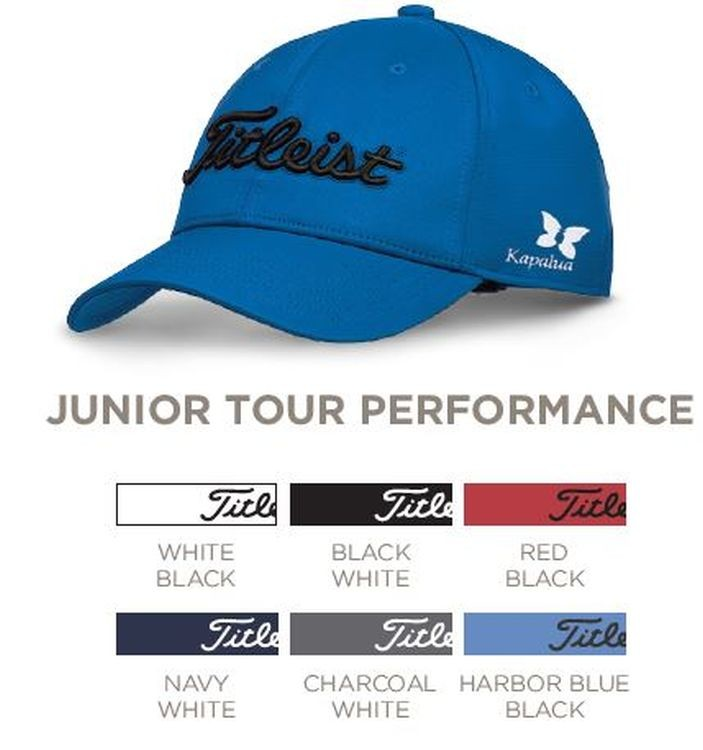 Titleist Junior Tour Performance Golf Hat - TH7AJRPC  bd706739ec39