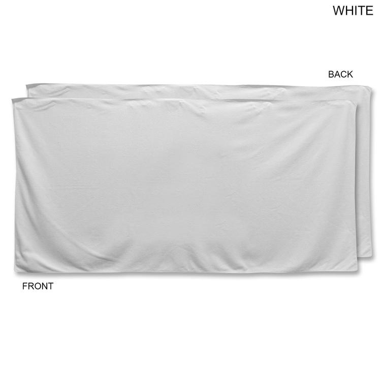 Blank White Beach Towel 11 Blank White Beach Towel Nongzico