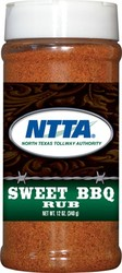 Sweet BBQ Dry Rub (pint plastic bottle)