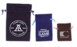 Velvet Drawstring Bag 6x9