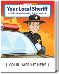 COLORING BOOK - Your Local Sheriff Coloring & Activity Book - Coloring Book