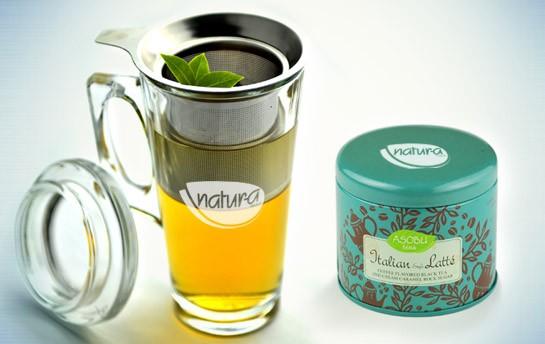 Asobu Tea and Mug Gift Set