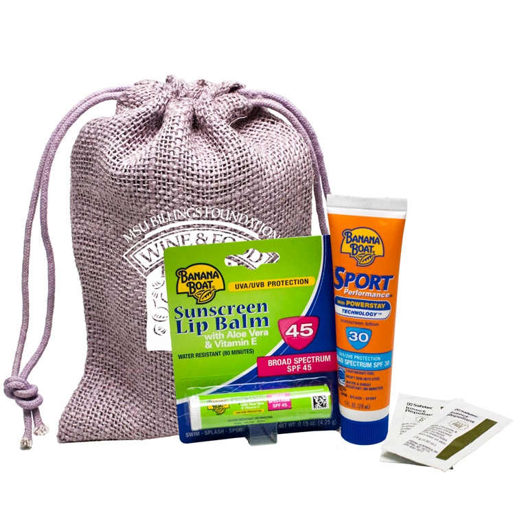 OUTBACK OUTDOOR SUN KIT - SUNSCREEN , BUG REPELLENT, JUTE
