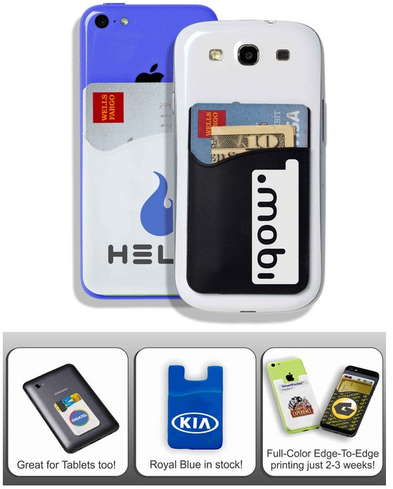 Smart Pocket For Mobile Phones with Multi-Color Printing