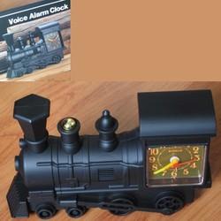 Locomotive Voice Alarm Clock