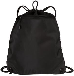 Port Authority - Improved Cinch Pack with Mesh Trim.