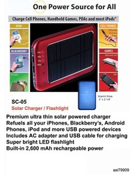 iBank(R) Solar Charger for iPhone, iPod, Blackberry and Android phones