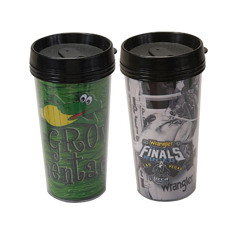 Travel Tumbler w/4 Color Process Printing (CMYK)