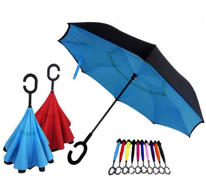 Double-deck Umbrella With Inverted Style