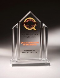 ALPHA Corporate Acrylic Award - Corporate Executive Acrylic Trophies and gifts