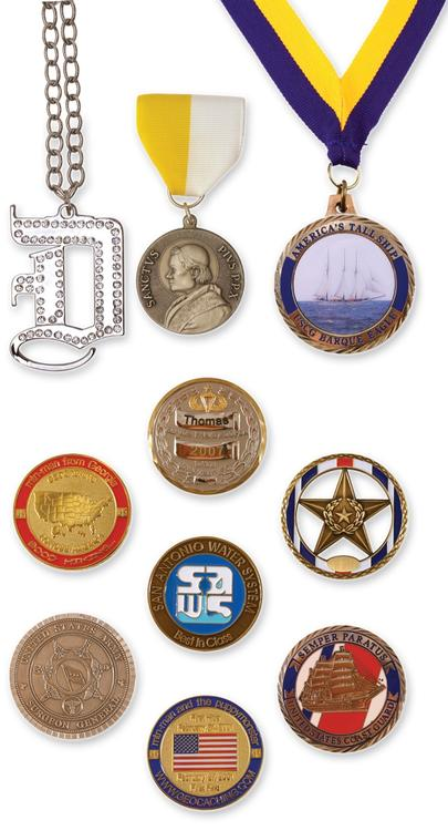 Coins / Medallions - 1.75 Die Cast