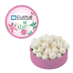 Small Snap-Top Mint Tin with Signature Peppermints - Breast Cancer Awareness - breast cancer awareness