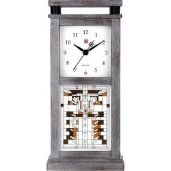 Bulova Frank Lloyd Wright Water Lilly Tabletop Clock