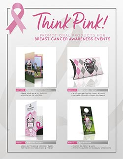 Promotional Products for Breast Cancer Awareness