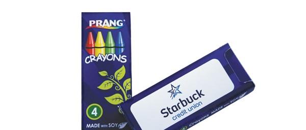 Prang FunPro Soy 4 Pack Crayons