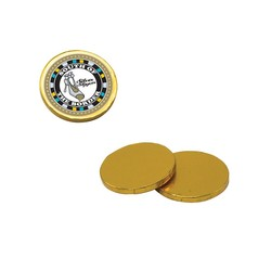 Chocolate Coins - Gold - chocolate coins