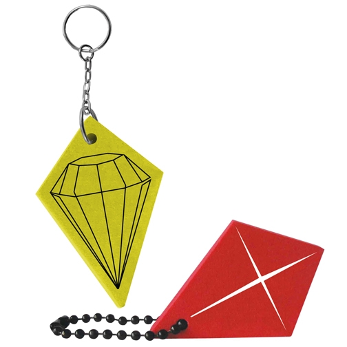 Kite/ Diamond Key Tag - Kite/ Diamond Key Tag