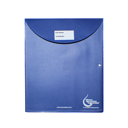 Vinyl Envelope with Rounded Flap (Made in USA) 9-1/2