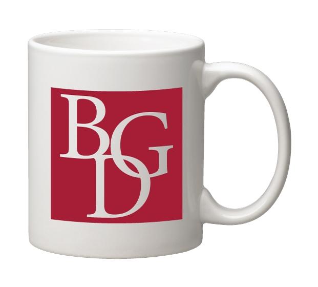 Ceramic Coffee Mug, 11 oz. White