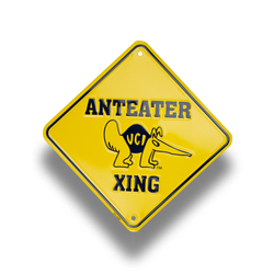 Caution Sign 6 x 6 (Embossed)