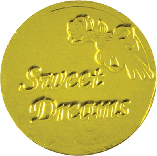 Sweet Dreams Chocolate Coin